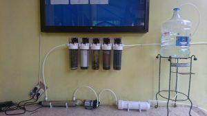 ITS Aplikasikan Proses Reverse-Osmosis Membrane untuk Penjernihan Air