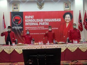 PDI Perjuangan Tegaskan akan Menangkan Surabaya dan Pacitan dalam Pilkada Serentak 2020