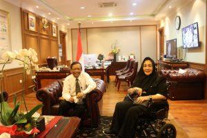 Bertemu Rachmawati Soekarnoputri, Mahfud MD Bahas Kondisi Keamanan Indonesia