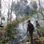 Warga Klotok Dilibatkan dalam Penanggulangan Kebakaran Hutan