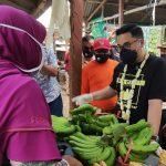 Blusukan ke Pasar, Dito Serap Aspirasi Pedagang