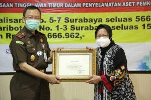Dua Aset dan Uang Rp 4 Miliar Kembali ke Tangan Pemkot Surabaya
