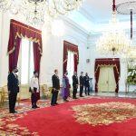 Presiden Terima Surat Kepercayaan Tujuh Duta Besar Negara Sahabat