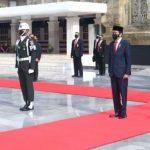 Presiden Pimpin Upacara Ziarah Nasional Hari Pahlawan 2020 di TMP Kalibata