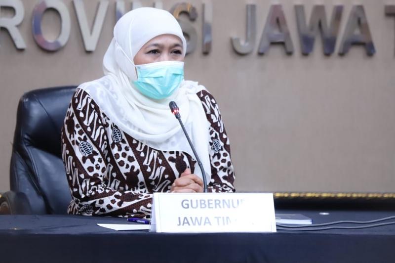 Khofifah Tegaskan Jawa Timur Tak Perlu Beras Impor