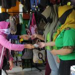 Forum Organisasi Penyandang Disabilitas Kediri Bagikan Ratusan Masker