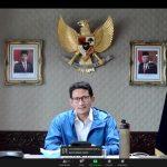 Percepat Pemulihan Wisata, Sandiaga Uno Ajak Dialog Pemda se-Indonesia