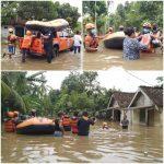 Banjir Jember, BPBD Jatim Kirim Perahu Karet dan Logistik