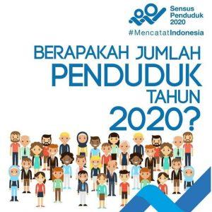 Hasil Sensus 2020: Jumlah Penduduk Indonesia Sebanyak 270,20 Juta Jiwa