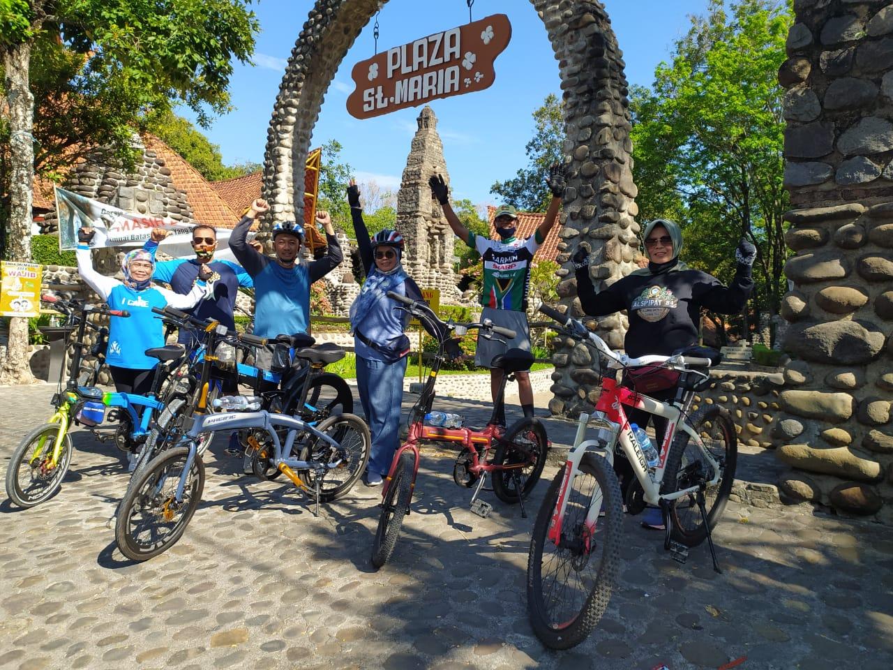 Kelompok Gowes Keluarga Bani Soepardi, Hidup Sehat dengan Bersepeda Bersama Keluarga
