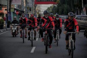 Ketua DPRD Kota Kediri Ajak Masyarakat Jaga Imunitas dengan Bersepeda