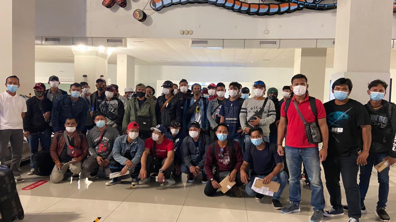 158 Pekerja Migran Indonesia dari Berbagai Wilayah Pasifik Dipulangkan