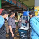 Tim Abmas ITS Ciptakan Alat Pencuci Tangan Otomatis