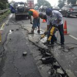 Kondisi Terkini Longsor di Ruas Jalan Tol Surabaya-Gempol