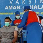 Forkopimda Kota Kediri Jalani Vaksinasi Covid-19