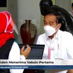 Kesan Presiden Jokowi Setelah Divaksin Covid-19