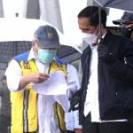 Presiden Tinjau Sarana Terdampak Bencana Banjir di Kabupaten Banjar