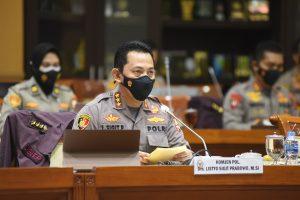 DPR RI Setujui Penunjukan Listyo Sigit Jadi Kapolri