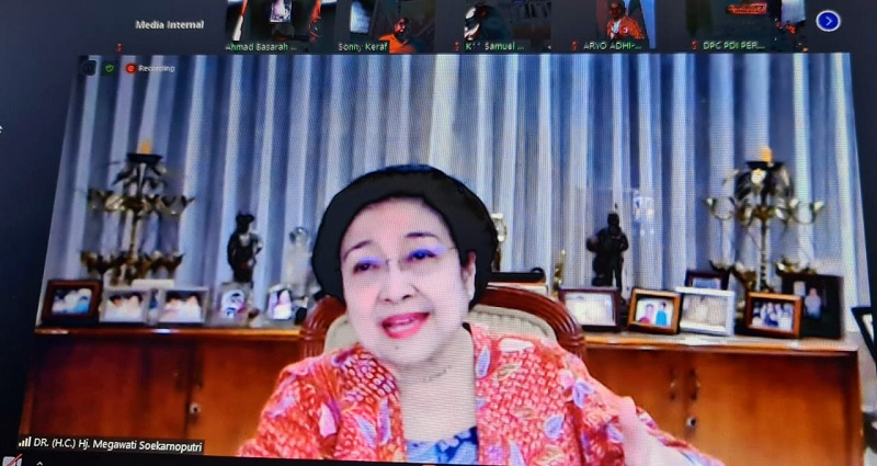 Megawati Ajak Masyarakat Taati Protokol Kesehatan