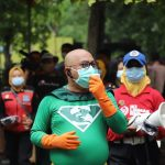 New Man, Ikon Protokol Kesehatan Pemkot Surabaya Beraksi