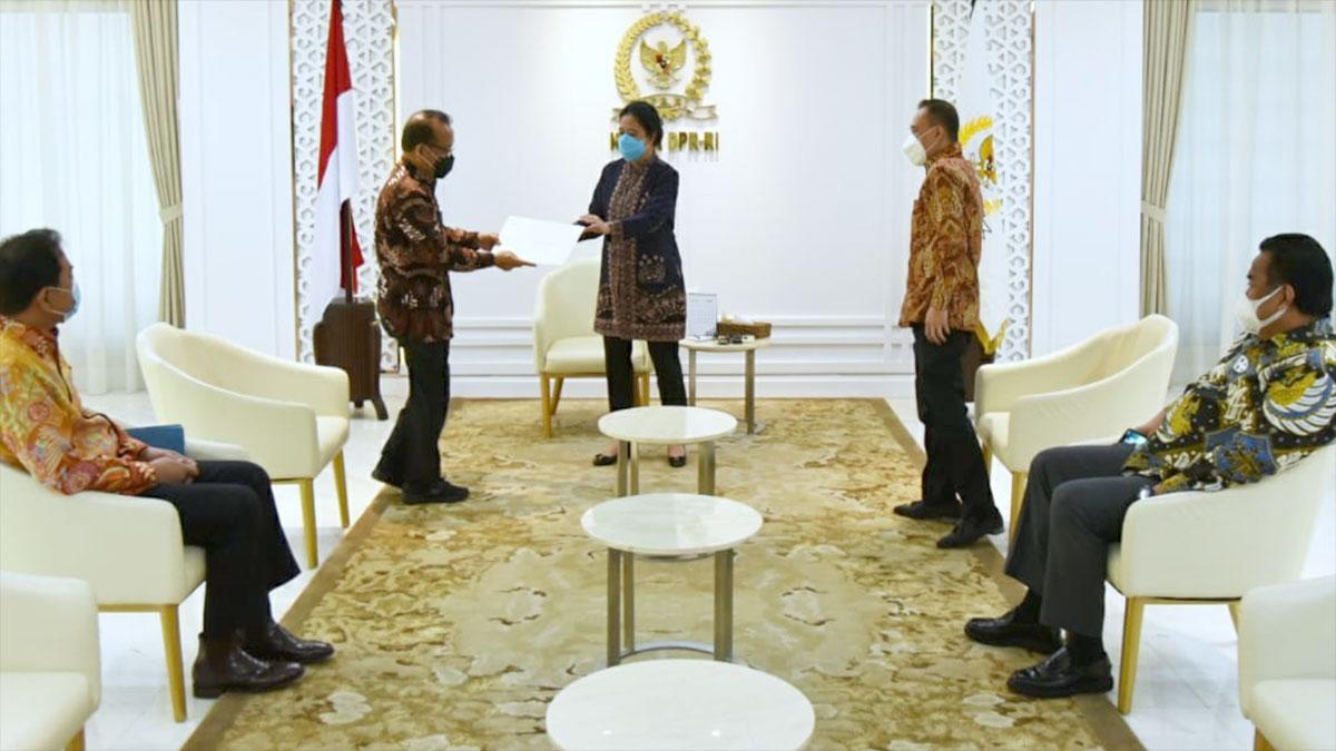 Presiden Sodorkan Nama Calon Kapolri ke DPR RI