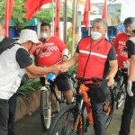 Semarak Sepeda Sehat Kader Banteng Jatim