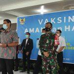 Wali Kota Kediri Klaim Vaksinasi untuk Nakes Capai 99,1 Persen
