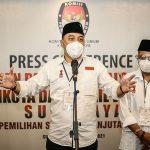 Ditetapkan sebagai Wali Kota Surabaya Terpilih, Eri Cahyadi Minta Pendukung Tak Euforia