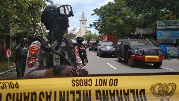 Menag Kutuk Keras Pengeboman di Depan Gereja Katedral Makassar