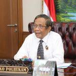 Mahfud MD: UU Hukum Pidana Sudah Usang, Sahkan RUU KUHP