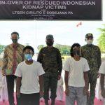 KBRI Manila Terima 4 WNI Korban Sandera Abu Sayyaf