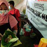 Warung Gopindes Kediri, Sajikan Makanan dengan Daun Jati