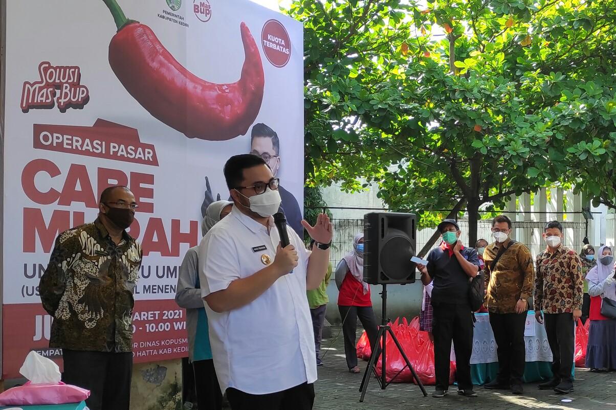 Kabupaten Kediri Jadi Supplier Cabai Skala Nasional