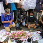 Aksi Solidaritas untuk Nurhadi