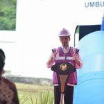 Presiden Resmikan Sistem Penyediaan Air Minum Umbulan