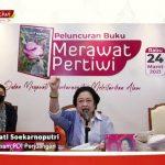 PDI Perjuangan Luncurkan Buku Merawat Pertiwi