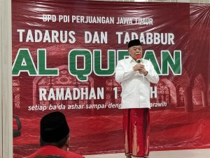Banteng Jatim Gelar Tadarus dan Tadabbur Ramadan 1442 H
