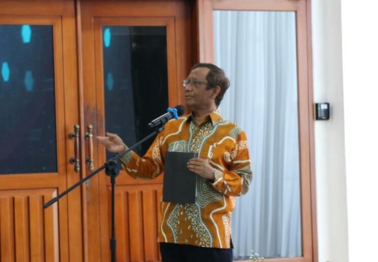 Mahfud MD: Kebebasan Pers Tidak Boleh Dilanggar
