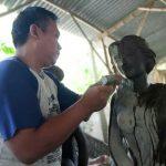 Mengintip Rumah Patung Trowulan