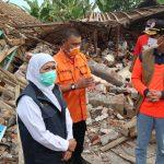 Doni Monardo Tinjau Lokasi Bencana Gempa di Malang
