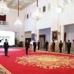 Presiden Lantik Menteri Investasi, Mendikbudristek, dan Kepala BRIN