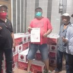 Banteng Surabaya Bagikan Bingkisan Lebaran hingga Anak Ranting