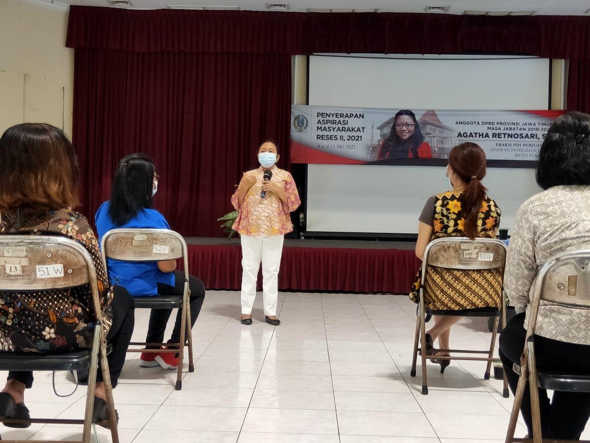 Kolaborasi dengan WKRI, Agatha Berdayakan Perempuan di Bidang Ekonomi
