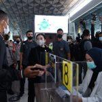 Puan: Jangan Sampai 'Kecolongan' Penularan Covid-19 dari Bandara