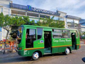 Akhir Ramadan, Begini Nasib Sopir Bus di Terminal Joyoboyo