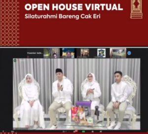Lebaran, Eri Cahyadi Silaturahmi Virtual bersama Warga