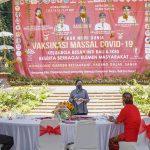 Vaksinasi Massal Raih Rekor Muri, Puan: Ini Semangat Gotong Royong