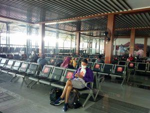 Hari Pertama Masa Larangan Mudik, Stasiun Gubeng Terpantau Lengang