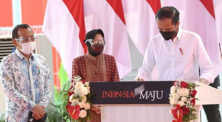 Resmikan PSEL TPA Benowo, Presiden Minta Kota Lain Tiru Surabaya