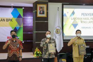 Surabaya Pertahankan Opini WTP dari BPK
